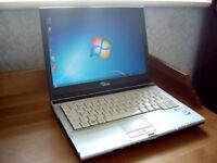 "Extremly Fast Fujitsu S-Series 15"" Laptop - Intel 2.4Ghz - Wifi - DVD-RW - Office - AntiVirus - Wifi"