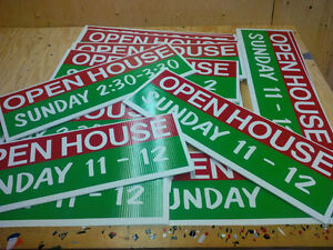 Sign toppers, open house, directional signs Kingston Kingston Area image 7