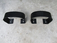 A PAIR OF YJ JEEP REAR BUMPERETTES