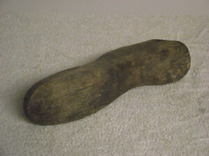 Cobblers hand carved wooden foot form. Kingston Kingston Area image 3