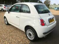 FIAT 500 1.2 LOUNGE - ONLY 35,422 MILES - NEW MOT - SERVICED