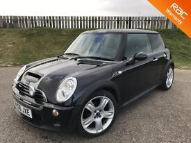 2006 MINI COOPER S 1.6 16V SUPERCHARGED - 66K MILES - F.S.H - 6 MONTHS WARRANTY