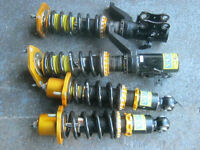 coil over  full adjustable xyz for civic or integra dc5.