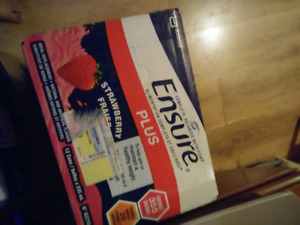 Selling 11 cases of ensure. $20 a case obo