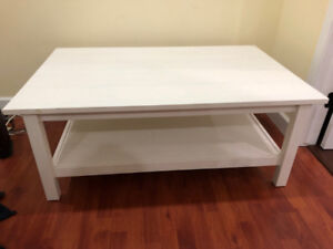 IKEA Hemnes Coffee Table (White) $120