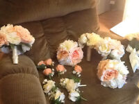 Wedding flowers for the whole wedding party