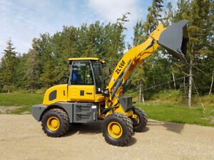 Brand New Wheel Loaders With A Two Year  Parts Warranty
