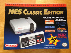 NES CLASSIC EDITION - W/X-TENDER CABLE - NEW !
