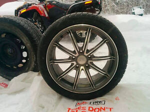 4 Excellent Summer Tires On Rims (Almost New)