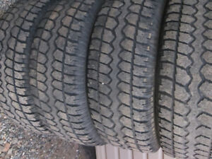 4 - P265/70R17 WINTER TIRES STUDDED $120.00