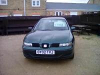 Seat Leon 1.6 1595cc 2002MY S