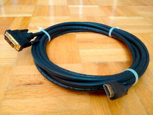DVI to HDMI Cable 16 Feet/5 Metres Computer to TV or Projector