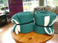 Two Heavy Weight Sleeping Bags
