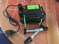 Salamander shower pump (new)