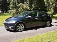 2007 Honda Civic 1.8i-VTEC EX Sat-Nav long mot £2695