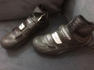 new Shimano Goretex cycling shoes