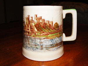 Conway Castle Mug Brentleigh Ware Staffordshire England