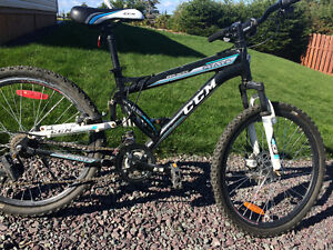 Youth CCM Static Full Suspension Mountain Bike