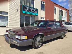 1990 Cadillac Fleetwood with ONLY 126170km RARE NO ACCIDENTS