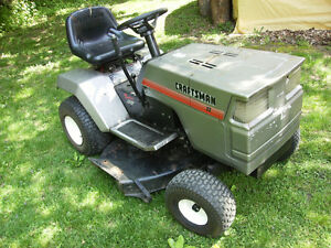 Cheap Craftsman lawn tractor