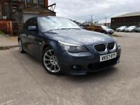 BMW 530D 3.0 M SPORT AUTOMATIC DIESEL,HPI CLEAR,LCI FACELIFT,FULL SERVICE HISTORY,NEW TURBO,SAT NAV