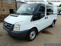 2010 FORD TRANSIT 6 SEAT CREW VAN, MINIBUS, ## ONLY 37000 MILES ## 1 OWNER, FSH.