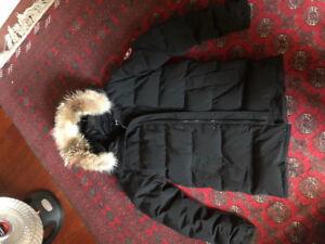XL Black Carson Canada Goose Jacket Men's