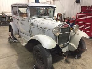 SOLD PENDING PICK UP -1929 Ford Model A Two Door Sedan - PROJECT