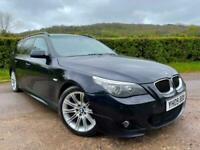 2009 BMW 520D M SPORT BUSINESSES EDITION AUTO, SAT NAV, HEATED LEATHER, PHONE +