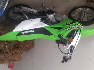 Bran new dirt bike