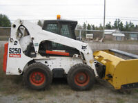 Bobcat Skid steer with operater for hire around Marmora