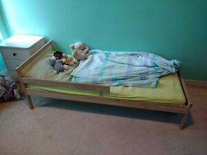 Ikea Toddler Bed with Mattress for Sale