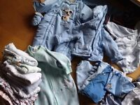 0-3 month baby boys clothes bundle