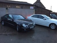 Mercedes e270 cdi immaculate full leather full service history