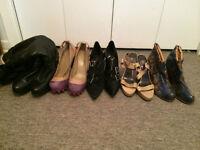 Lot de 5 bottes, bottines et chaussures