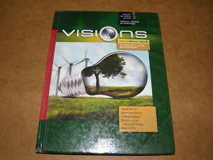 Livre Visions Mathématique 3e Année du 2e Cycle du Secondaire