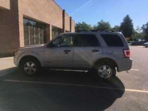 FORD ESCAPE 2008 (safety & oil change record)