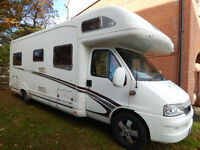 Swift Kontiki Vogue 665 6 Berth Fixed rear bed, motorhome for sale
