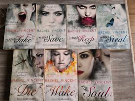 Rachel Vincents Souls Screamers saga