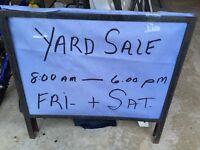 Yard Sale!!!!