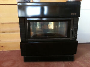 Gravity fed oil stove / Fireplace