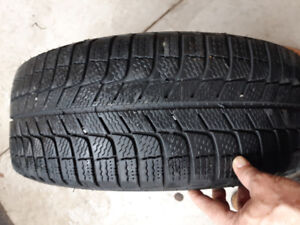 4 Michelin Winter Tires with Rims only $215