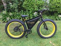 Sondors eBike Electric Bike - Black & Yellow - Fat Tyre - LCD upgrade - RARE!