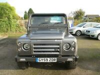 2009 Land Rover Defender 2.4 110 COUNTY HARD TOP 2d 122 BHP 4x4 Diesel Manual