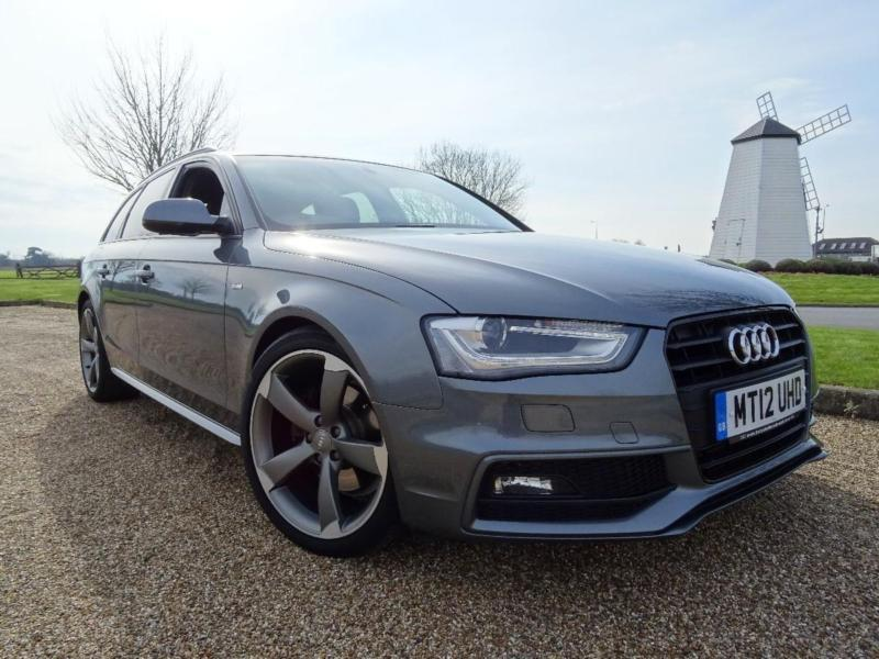 2012 audi a4 avant tdi s line black edition diesel grey manual in orpington london gumtree. Black Bedroom Furniture Sets. Home Design Ideas