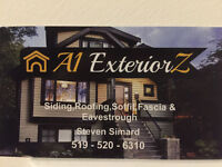 Roofing,Siding,Soffit,Fascia & Eavestrough