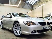 2006 BMW 6 Series 3.0 630i Sport Coupe 2dr Petrol Auto (226 g/km, 258 bhp)