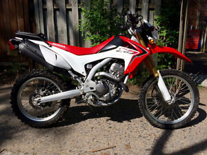 CRF250L 2014 Double usage
