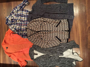 Large sweaters / cardigan / blouse lot