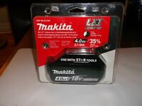 Batterie MAKITA BL1840 Li-Ion 18 V 4,0 Ah